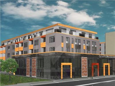 Apartament 2 camere cu terasa in bloc nou zona Cluj Arena