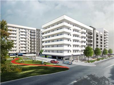 Apartament 3 camere bloc nou zona Kaufland