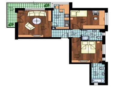 Apartament 3 camere in zona Garii