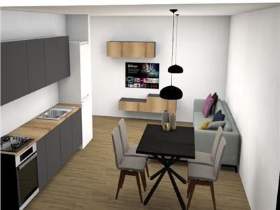 Apartament 2 camere semifinisat cu parcare in garaj subteran