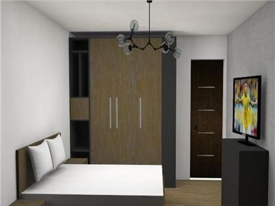 Apartament 2 camere semifinisat cu CF
