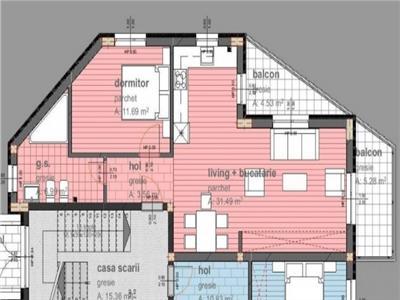 apartament 2 camere cu loc de parcare in Donath Park