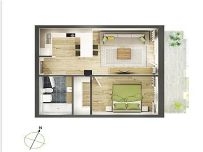 Apartamente 2 camere bloc nou zona Cluj Arena