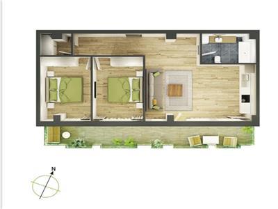 Apartament 3 camere zona Cluj Arena