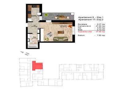 Apartament cu 1 camera ultracentral, zona Opera !