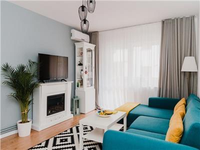 Apartament cu 3 camere ultrafinisat in Marasti, etaj 1 !
