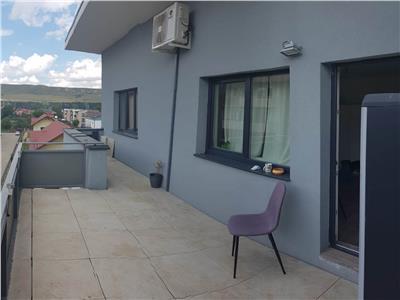 Apartament 2 camere etaj retras cu 22 mp de terasa