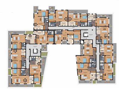 Apartamente bloc nou in apropiere de Gara