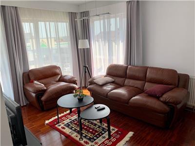 Apartament 2 camere decomandat mobilat etaj 3 bloc NOU cu CF