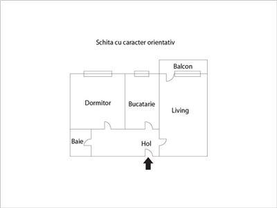 Apartament cu 2 camere in Manastur, etaj intermediar, zona Sirena !
