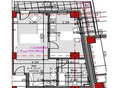 Apartament 2 camere constructie noua zona strazii Fabricii!!!