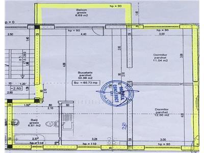 Apartament 3 camere, etaj intermediar + parcare !!