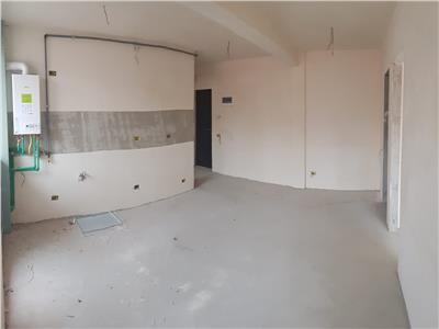 Apartament semifinisat cu 3 camere si 2 bai