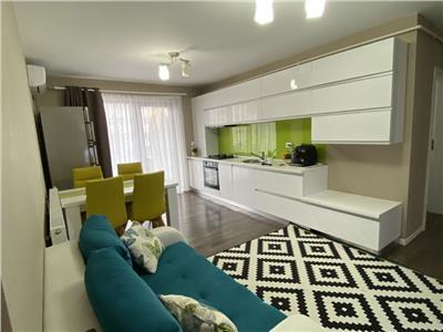 Apartament 3 camere ultrafinisat si mobilat etaj intermediar in Marasti