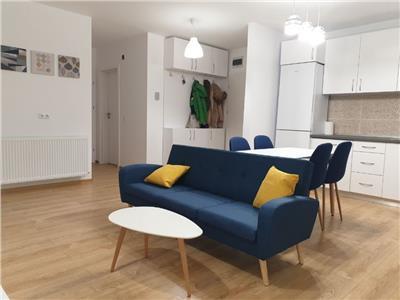 Apartament cu 3 camere imobil finalizat cu CF mobilat si utilat in zona OMV Calea Turzii