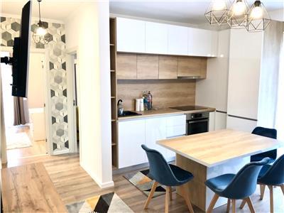 Apartament 3 camere cu parcare etaj 1 mobilat si utilat LUX zona Audi