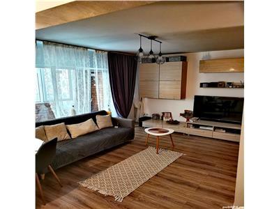 Apartament cu 3 camere finisat si mobilat modern in Floresti, zona Mega Image