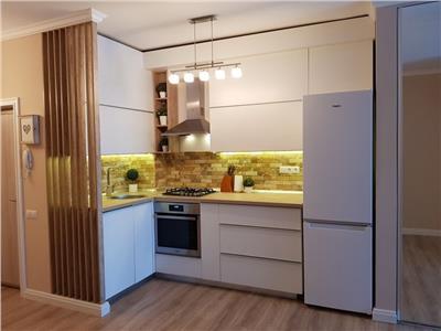 Apartament cu 2 camere ultrafinisat si mobilat zona Kaufland Marasti bloc nou
