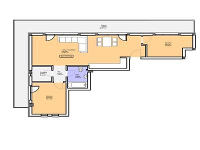 Penthouse de vanzare in zona Sub Cetate suprafata de 107 mp