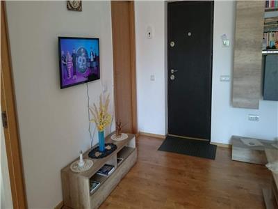 Apartament 2 camere mobilat, zona Mega Image in Floresti