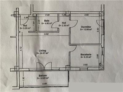 Apartament cu 2 camere bloc nou central in spate la Piata Mihai Viteazu!