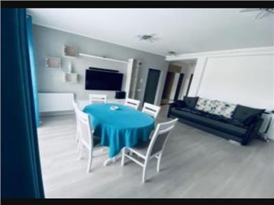 Apartament 3 camere mobilat si utilat lux, etaj intermediar cu loc de parcare in Floresti