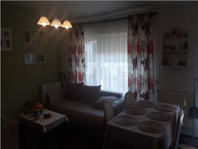Apartament 2 camere, mobilat, cu loc de parcare in Floresti