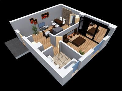 Apartament cu 2 camere in zona Tetarom 1, constructie noua