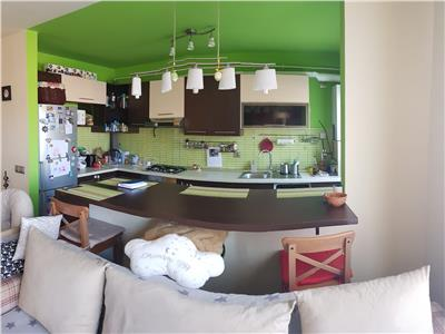 Apartament 2 camere confort marit, mobilat si utilat in Floresti, zona Ioan Rus!
