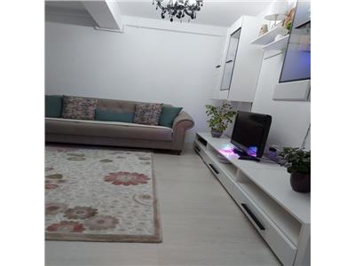 Apartament 2 camere mobilat si utilat modern, zona Primariei din Floresti!