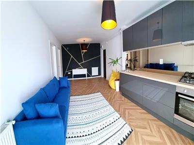 Apartament 2 camere mobilat si utilat modern, etaj intermediar in Floresti!