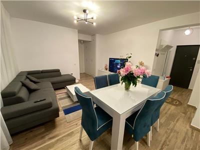 Apartament cu 3 camere, etaj 1, 74 mp, parcare, Floresti, zona Sub Cetate!