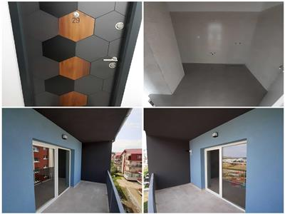 Apartament 2 camere, bloc nou, finisat, in Floresti!