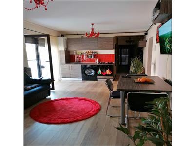 Apartament cu 3 camere , gradina de 80 mp in Floresti, zona Sub Cetate!