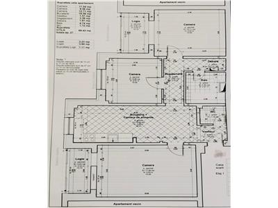 COMISION 0 ! Apartament cu 3 camere , 69 mp utili, 2 bai, 2 balcoane !