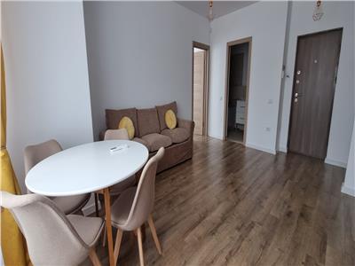 Apartament 2 camere, bloc nou, mobilat si utilat cu parcare