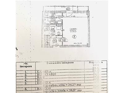 COMISION 0 ! Apartament cu 1 camera, etaj 1, bloc nou, zona Garii!