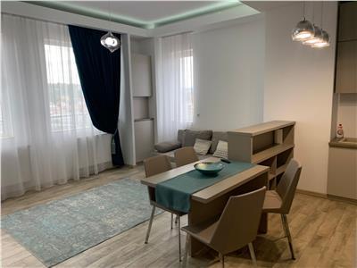 Apartament 2 camere finsat si mobilat lux, bloc nou, cladirea NTT DATA!