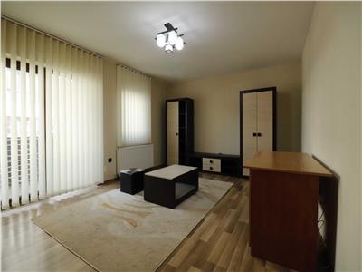Apartament 1 camera mobilat, cu gradina,  zona Sub Cetate Floresti!