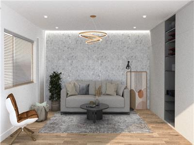 Apartament 3 camere, lux, 2 bai, etaj intermediar in Plopilor